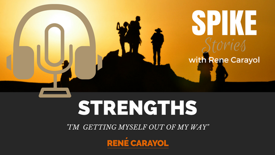 Getting myself out of my way podcast Blog featured image