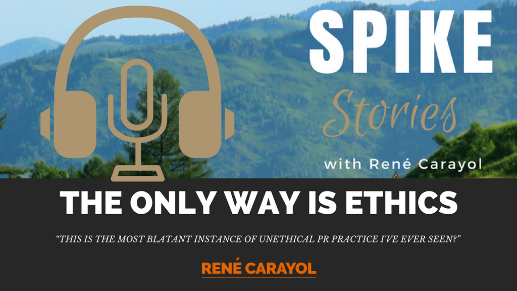 The only way is ethics podcast