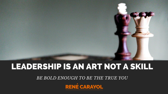 leadership is an art not a skill image