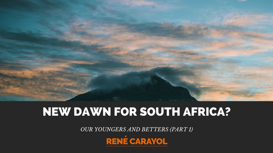 new dawn for south africa